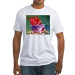 salsa dog Fitted T-Shirt