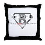 Breastfeeding Advocacy Throw Pillow