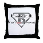 Breastfeeding Advocacy Throw Pillow