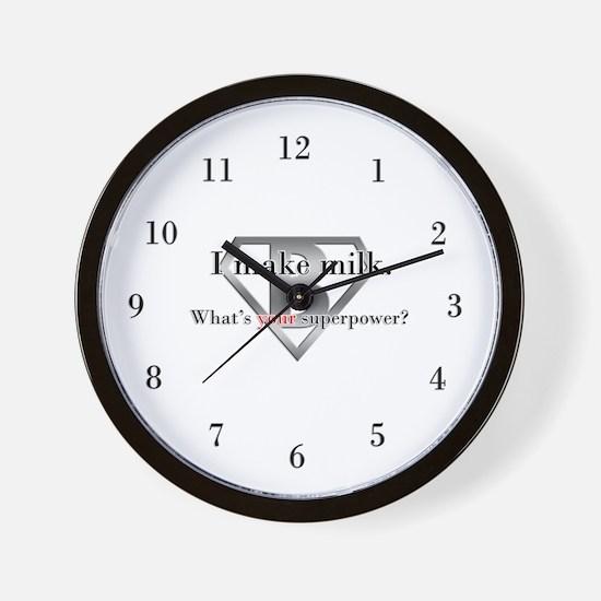 Breastfeeding Advocacy Wall Clock