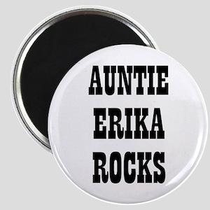 "AUNTIE ERIKA ROCKS 2.25"" Magnet (10 pack)"