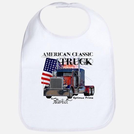 Classic Peterbilt Truck Bib