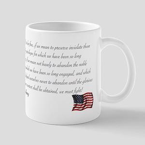 We must fight Mug