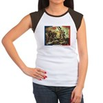 Bastille Day Women's Cap Sleeve T-Shirt