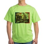 Bastille Day Green T-Shirt