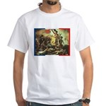 Bastille Day White T-Shirt