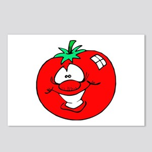 Happy Tomato Face Postcards (Package of 8)