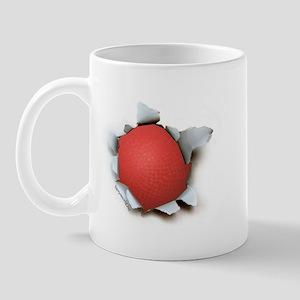 Dodgeball Burster Mug