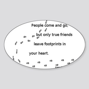 Friends Oval Sticker