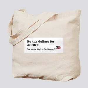 No Tax $ for ACORN Tote Bag