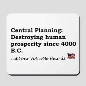 Central Planning Mousepad