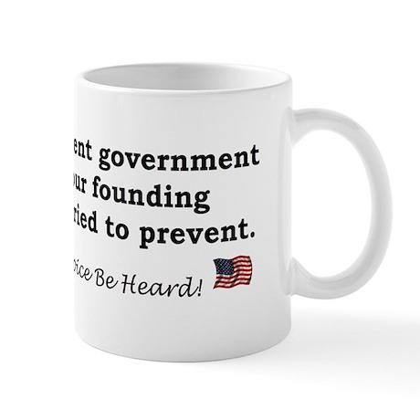 Current Government Mug