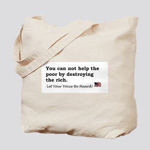 Destroying the Rich Tote Bag