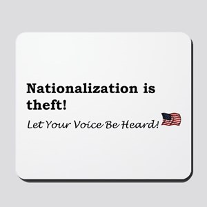 Nationalization Mousepad