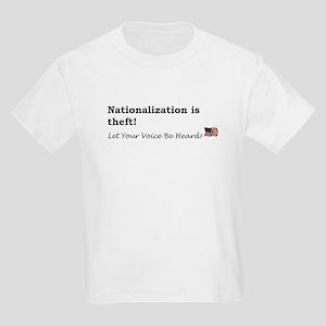 Nationalization Kids Light T-Shirt