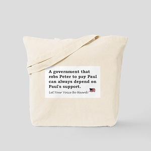 Peter and Paul Tote Bag