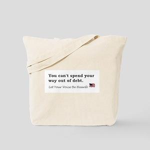 Spending Tote Bag
