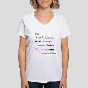 boldconswomant-shirt T-Shirt