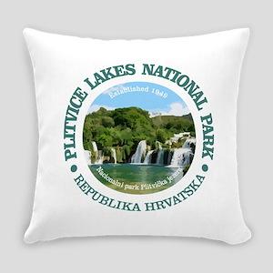 Plitvice Lakes NP Everyday Pillow