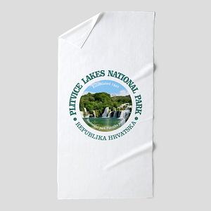 Plitvice Lakes NP Beach Towel