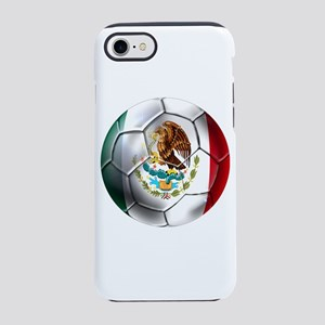 Mexican Soccer Ball iPhone 7 Tough Case