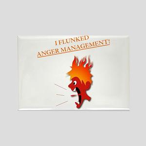 Anger Management Rectangle Magnet