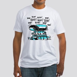 BLAP! BLAP! BLAP! BLAP! Fitted T-Shirt