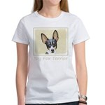Toy Fox Terrier Women's Classic White T-Shirt