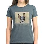 Toy Fox Terrier Women's Dark T-Shirt