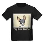 Toy Fox Terrier Kids Dark T-Shirt