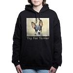 Toy Fox Terrier Women's Hooded Sweatshirt