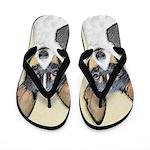 Toy Fox Terrier Flip Flops