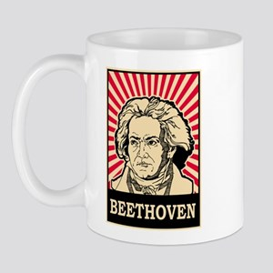 Pop Art Beethoven Mug