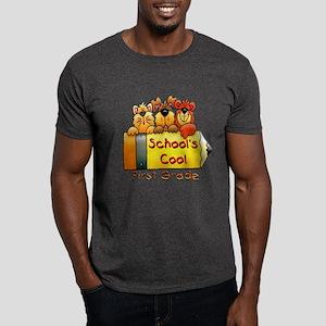 School's Cool 1st Grade Dark T-Shirt