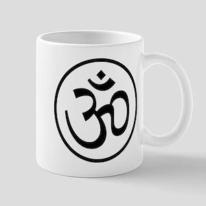 Aum Black Mug
