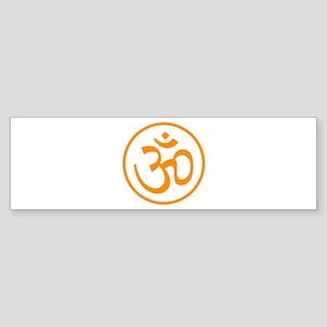 Aum Orange Bumper Sticker