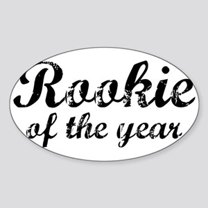 Rookie Of The Year Oval Sticker