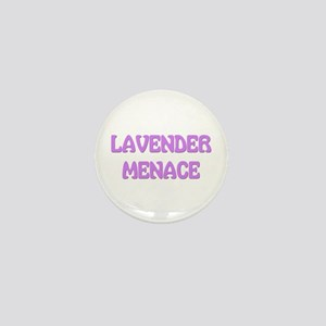 Lavender Menace Mini Button