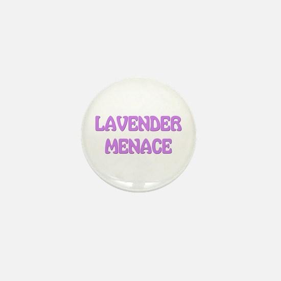 Lavender Menace Mini Button