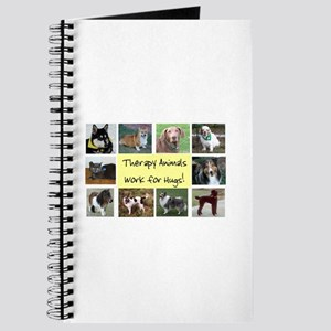 Therapy Animals Work For Hugs Journal
