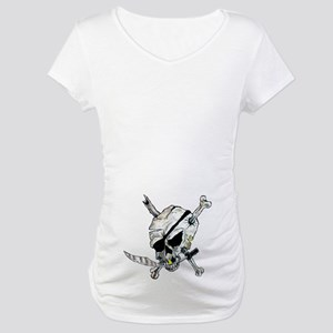 Florida Keys with Skull Maternity T-Shirt
