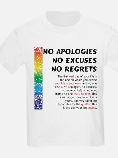 No Apologies T-Shirt