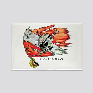 Florida Keys Diving Rectangle Magnet