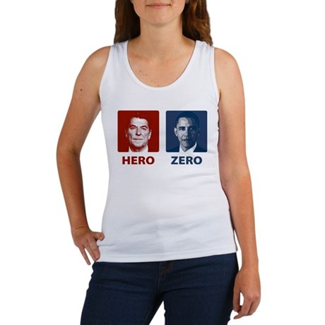 Obama Hero or Zero Women's Tank Top