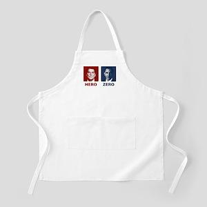 Obama Hero or Zero BBQ Apron