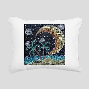 MoonShine Rectangular Canvas Pillow