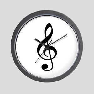Note - Clef Wall Clock