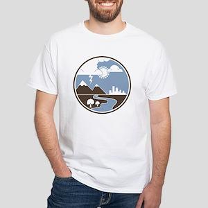 A&GS White T-Shirt