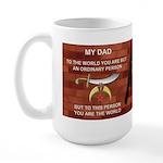Dad the Shriner Large Mug