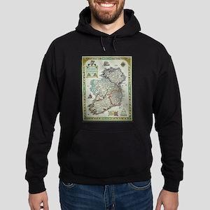 Ireland Map - Irish Eire Erin Historic Sweatshirt